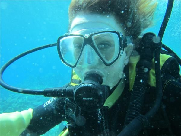 First dive after 20 years, from fear to thrills