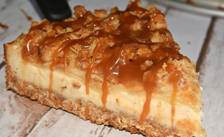 Ingredients:  Graham/Oats Crust:  ¼ cup brown sugar  1 cup graham cracker crumbs  ¾ cup rolled oats  ½ cup melted butter    Cheesecake:  2 8oz package softened cream cheese  2 tbsp corn starch  ¼ cup brown sugar  ¼ cup white sugar  ⅛ tsp ginger  2 tsp vanilla extract  ½ tsp