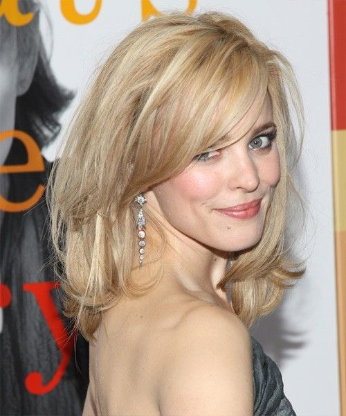 Rachel McAdams layered medium cut by elvira