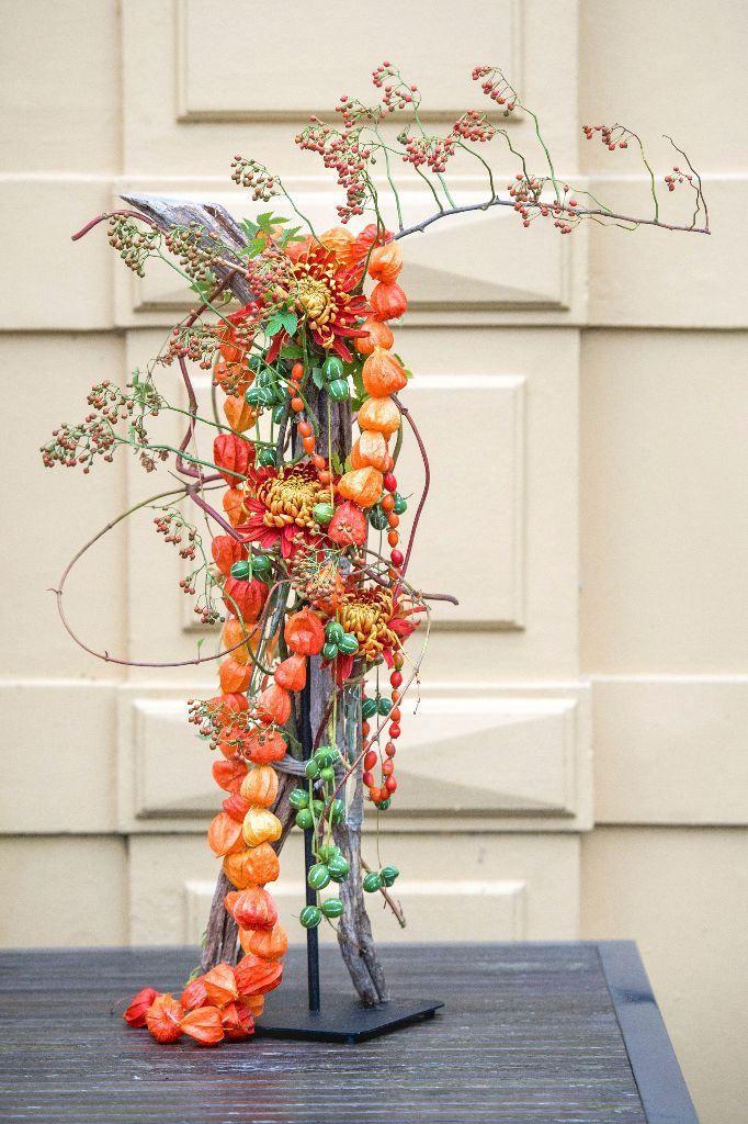 Zelf maken: herfstboeket - Wonen&Co