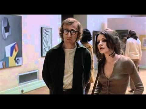 """That's quite a lovely Jackson Pollock isn't it? What does it say to you?"" Woody Allen from ""Play It Again Sam."""