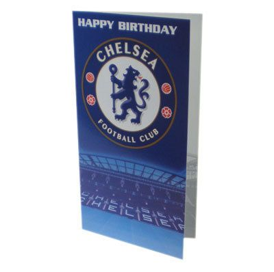 SoccerGaga.com - Chelsea F.C. Birthday Card  Free Shipping to USA and Canada (http://www.soccergaga.com/chelsea-f-c-birthday-card/)