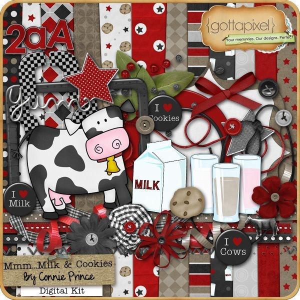 cap Milk & Cookies Kit