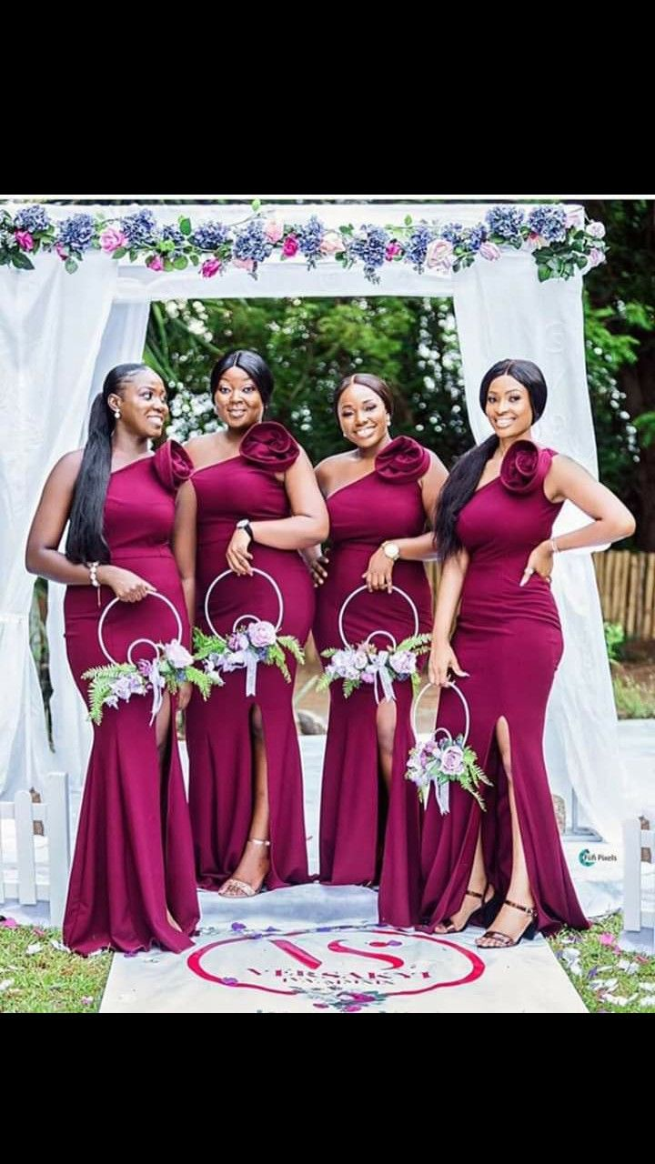 Pin By Theodore Marie On Patron Couture In 2020 Stylish Wedding Dresses African Bridesmaid Dresses Nigerian Bridesmaid Dresses