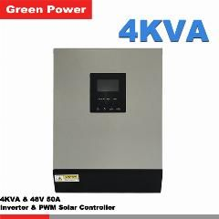 [ $58 OFF ] 4Kva 48V50A Off Grid Inverter With Pwm Solar Controller,grid Charger With Ups Function Lcd Display Cheap Price