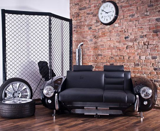 Superbe This Sofa Will Stun Your Guests   Greats For Fan Of Both Classical And  Modern Cars