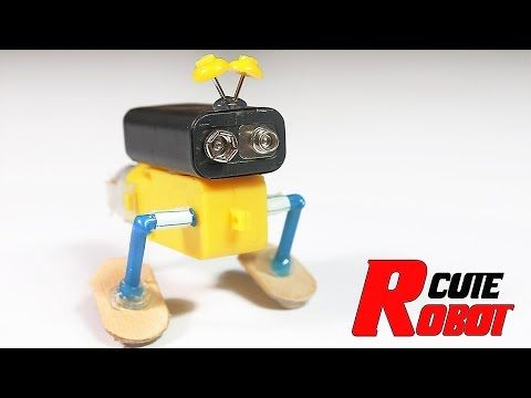 how to make electric robot