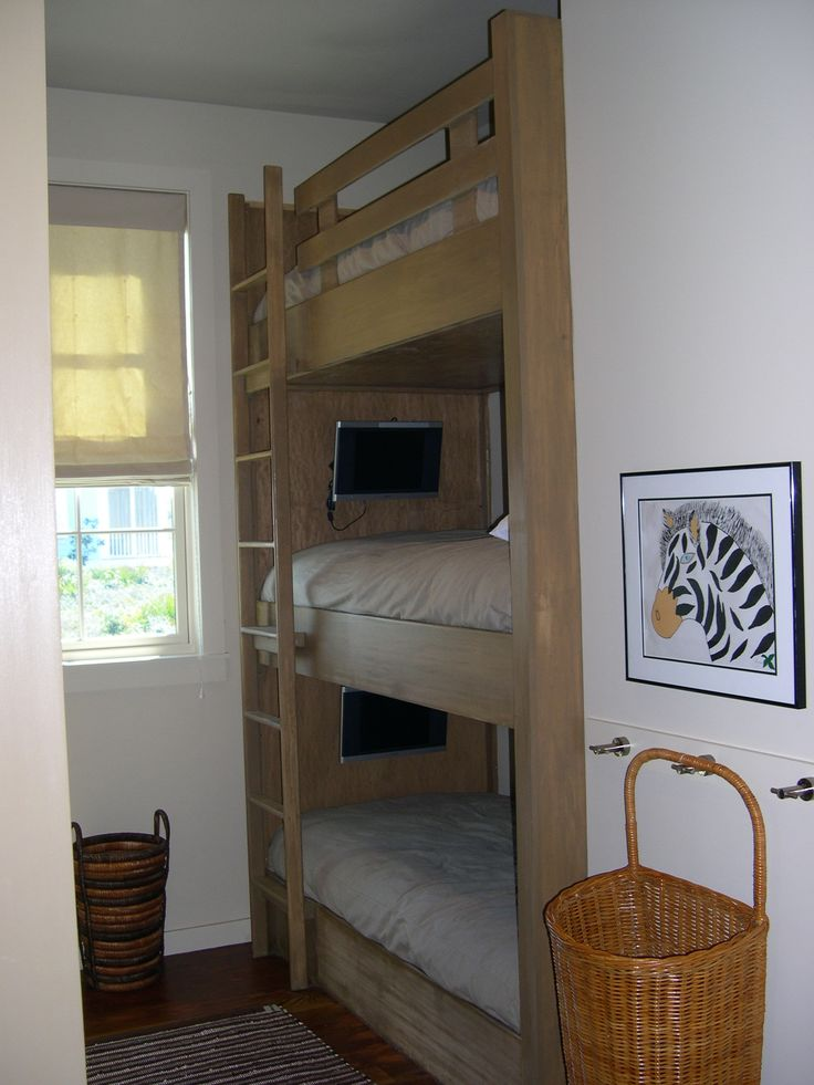 3 tier bunk bed would be the best in a beach house
