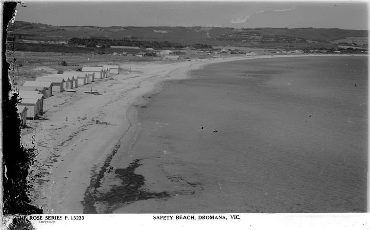 Safety Beach in the Fifties