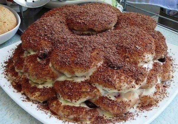"шеф-повар Одноклассники: Торт ""Черепаха"""