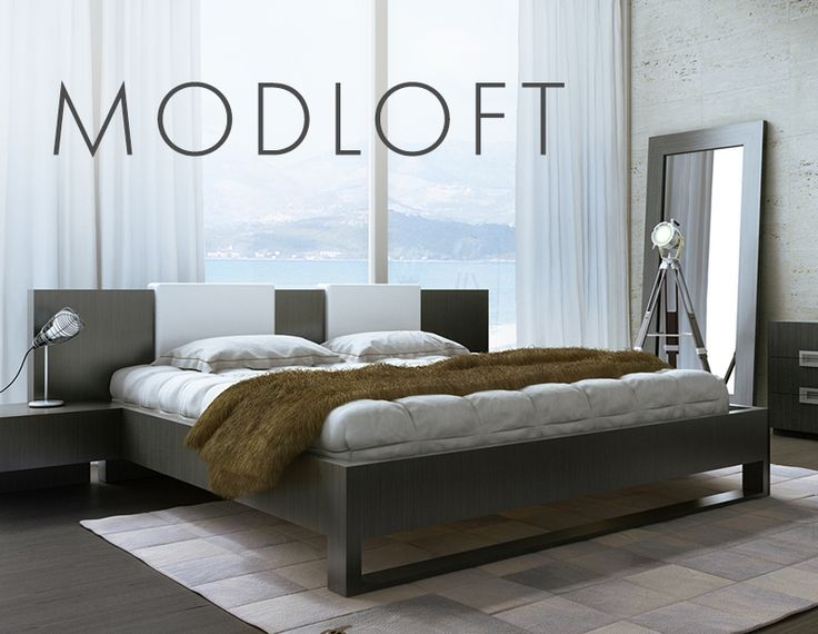 "Quality furniture for uban dwellers seeking to live ""modern on a budget."" Beds, Tables, Chairs, & More! http://www.yliving.com/brand/Modloft/_/N-1siev"