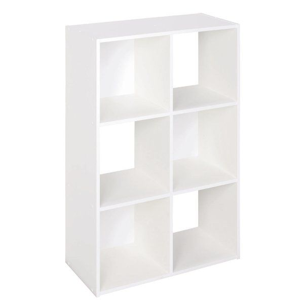 Featuring a cube design, this bookcase is the perfect storage solution for your bedroom or study. Alternate novels with accents or quirky bookends to turn it into a real focal point piece.