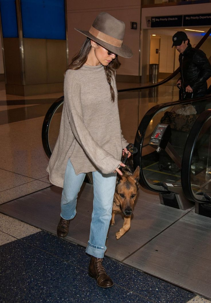 NIKKI REED at LAX Airport in Los Angeles 12/10/2016