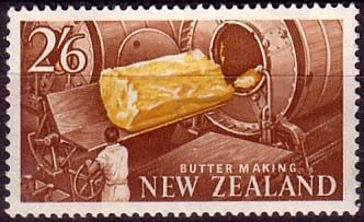 New Zealand 1960 SG 797 Butter Making Fine Mint SG 797 Scott 348 Condition Fine LMM Only one post charge applied on multipule purchases Details N B
