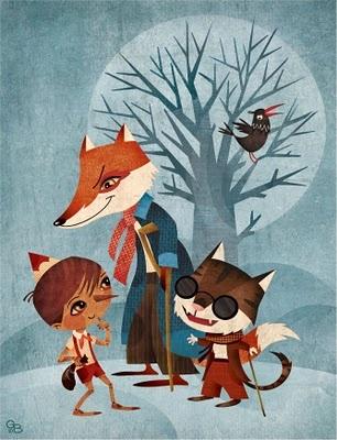 Pinocchio by Gaia Bordicchia