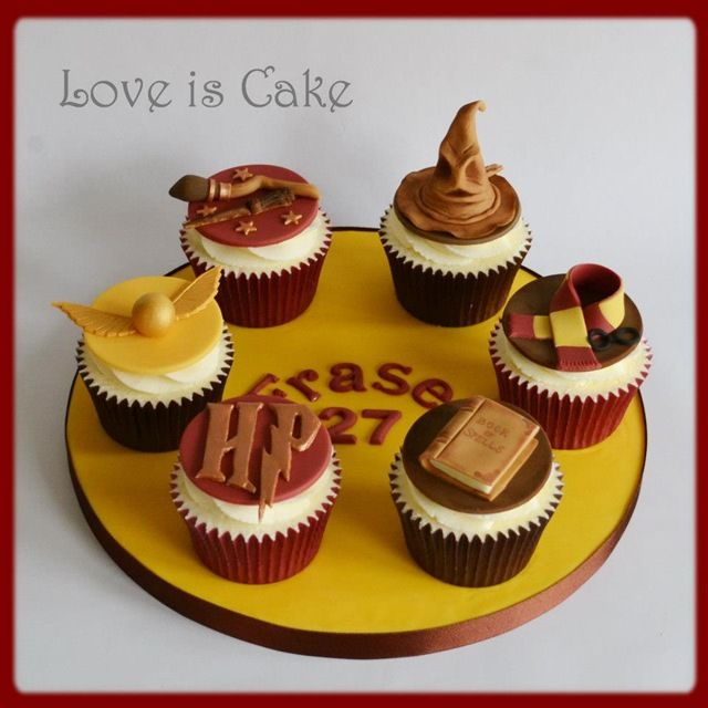 Cupcakes de Harry Potter