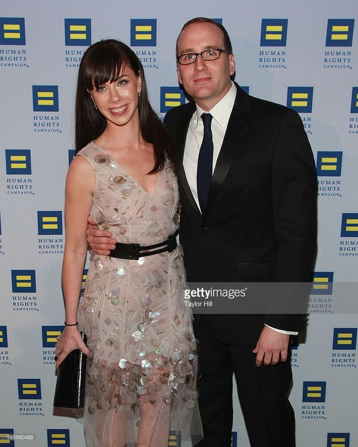 Barbara Pierce Bush and HRC President Chad Griffin attend The 2013 Greater New York Human Rights