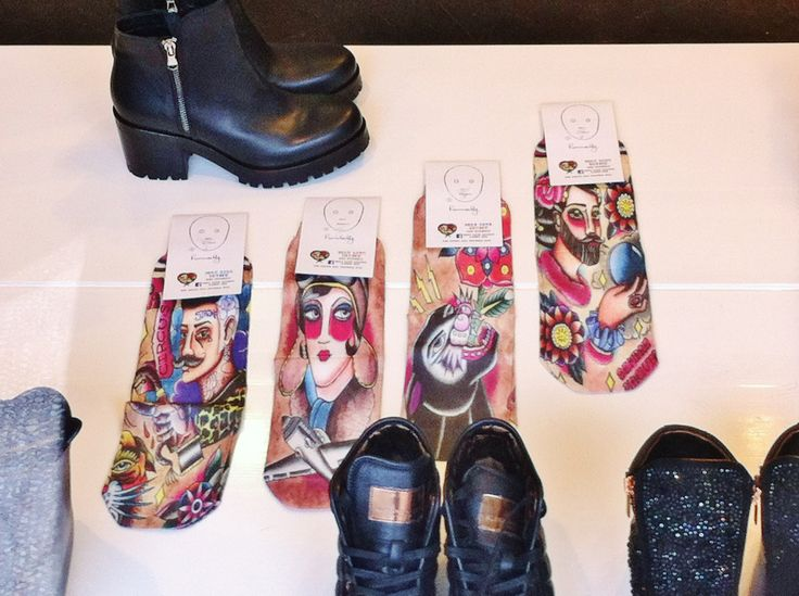 Homely Cool Socks !!!! Tatoo edition !!! #doricocalzature #homelycool