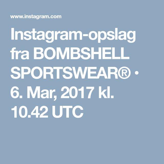 Instagram-opslag fra BOMBSHELL SPORTSWEAR® • 6. Mar, 2017 kl. 10.42 UTC