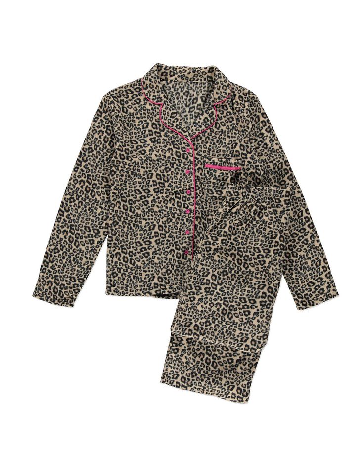 Animal Fleece Pyjamas Women at ASDA Ladies