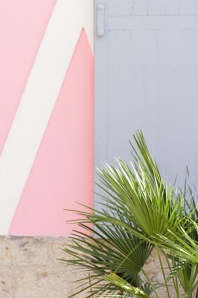 Inspiration graphique pour mur en couleur