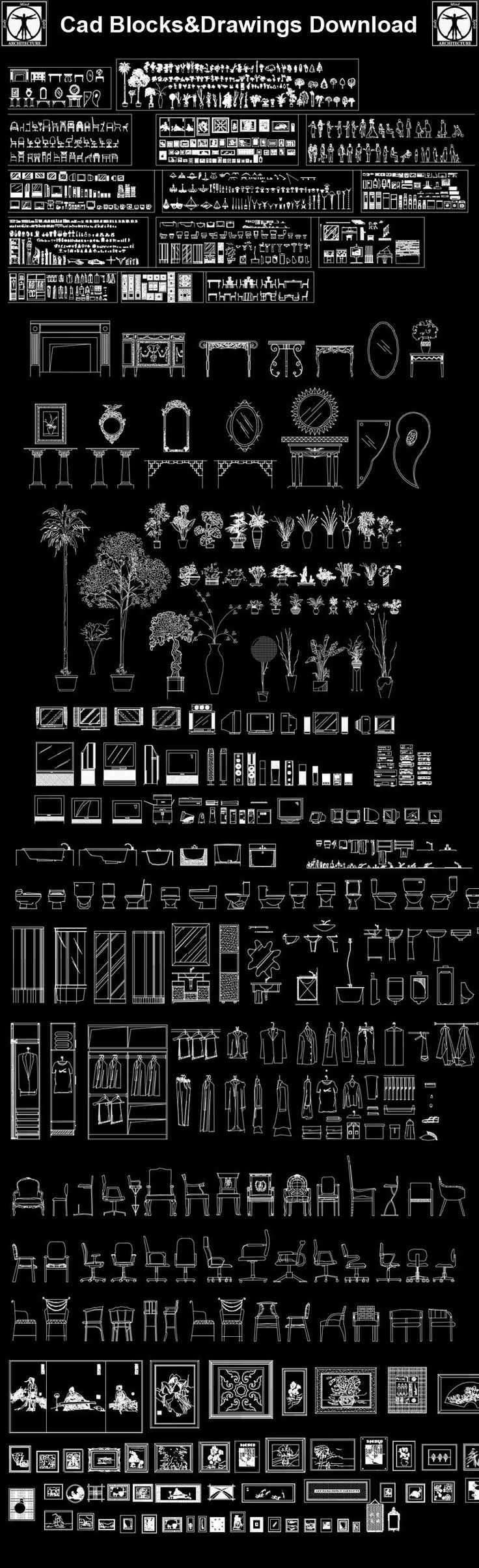 25 best ideas about cad library on pinterest cad symbol for Interior design cad free