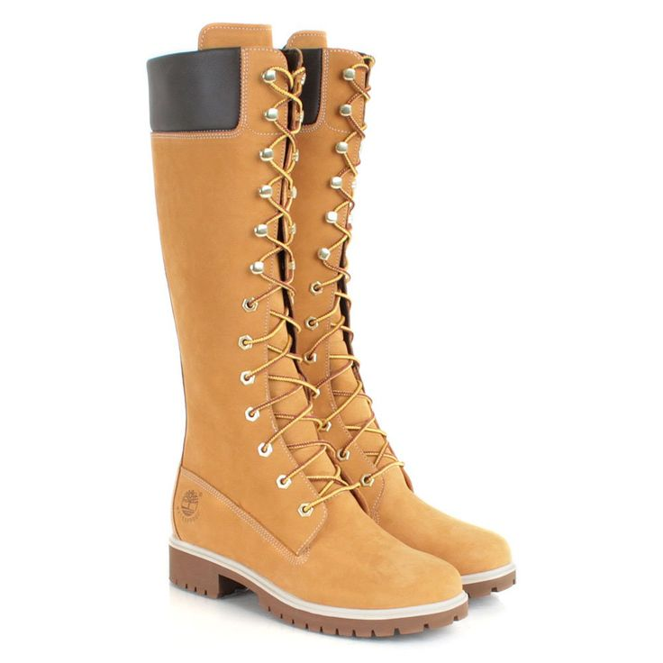 Timberland Wheat 14-Inch Women's Boots