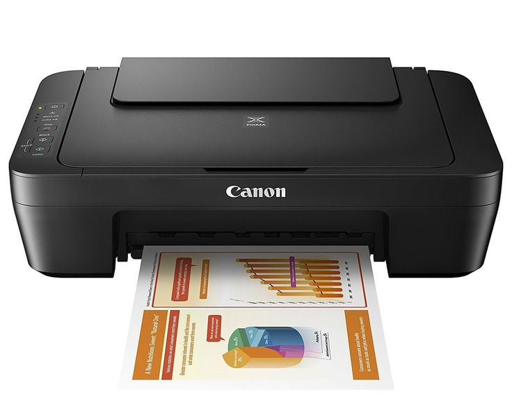 Canon PIXMA MG2525 Inkjet All-in-One Color Photo Printer Scanner Copier - Black #Canon