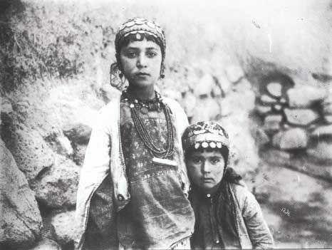 Iran C 1900 Two Girls Antoin Sevruguin Antoin