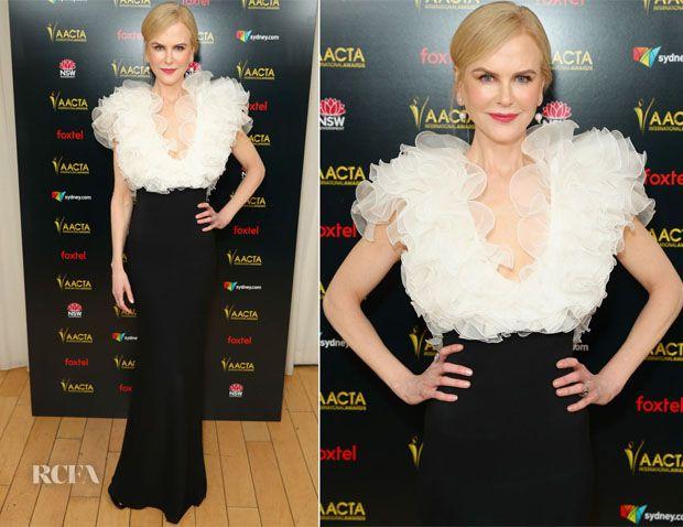 Nicole Kidman In Miu Miu 2019 Aacta International Awards Red Carpet Fashion Awards Nice Dresses Red Carpet Fashion Fashion