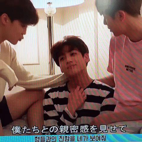 I shouldn't have stared at Jimin's hand | BTS - Jimin, Jungkook, Seokjin