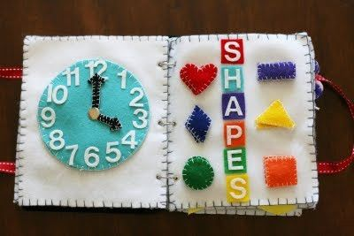 Quiet books are the best!  this is interesting to see that it is hands ON! by Rose of Sharon