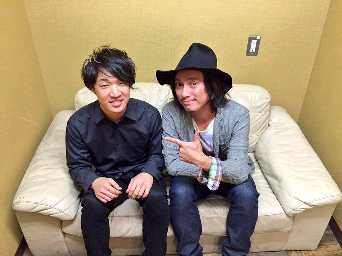そして、6月15日発売の「I wanna be戸渡陽太」にもキーボードで参加して頂いた渡辺シュンスケさんと!  LIVEめちゃくちゃ凄かった!いつかご一緒に音楽したいです!