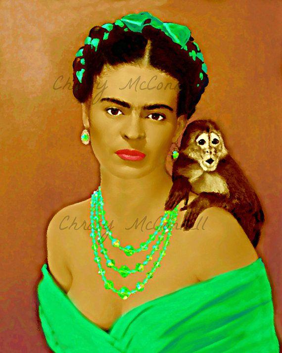 180 besten frida kahlo inspired art bilder auf pinterest. Black Bedroom Furniture Sets. Home Design Ideas