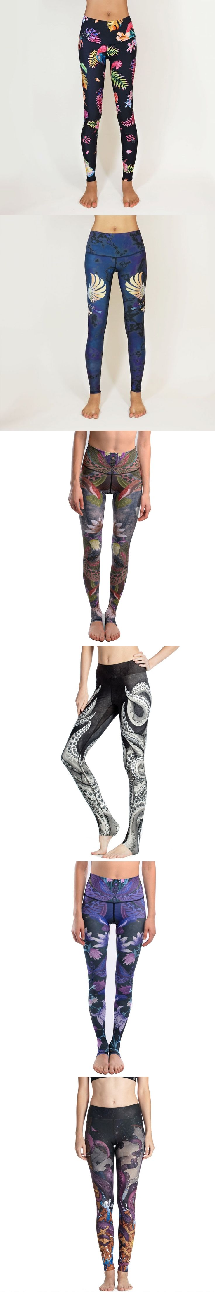 2016 Summer Women Pants Octopus Tentacle 3D Printing Leggings Fitness Leggins Ankle-Length Calzas Mujer For Girl Woman