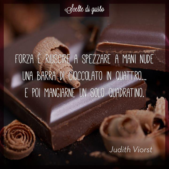 E tu, riesci a mangiare solo un quadratino? :D #cioccolato #vivisimply