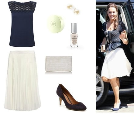 Catherine visits the Inner City Arts Centre in LA - click to buy the look