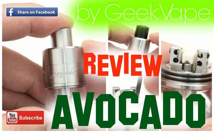 AVOCADO by Geek Vape Review | Παρουσίαση | Video