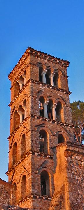 Romanesque Cathedral of Santa Maria di Vescovio in the Sabine Hills - Sabina - Lazio - Italy