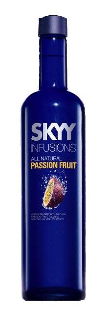 Vodka Skyy Passion Fruit de $18.95 (13,95€)