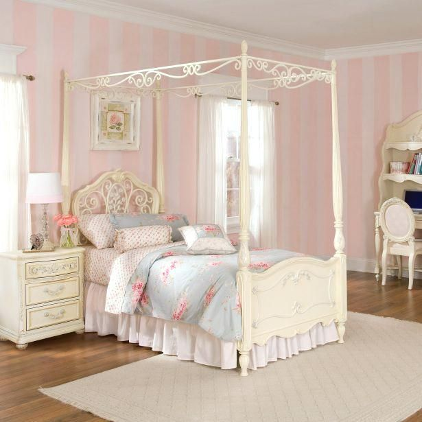 White Canopy Bedroom Set Medium Size Of Girls Queen Bed Black Furniture