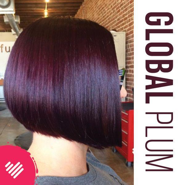 Global Plum in Hair Cut Inspirations