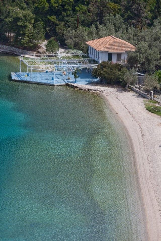 Spilia beach, Meganissi