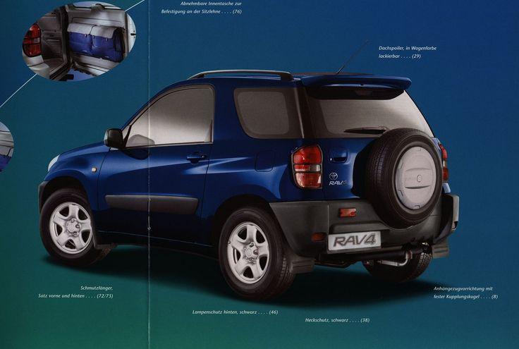 https://flic.kr/p/FJAkCf | Toyota RAV4 Zubehör;  2000_2 | auto car brochure | by worldtravellib World Travel library
