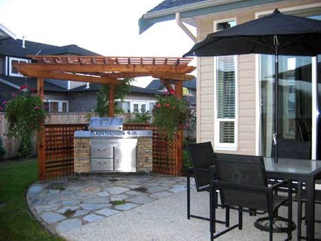 1000 images about fire pits bbq landscaping on pinterest backyards backyard fire pits and for Barbecue design