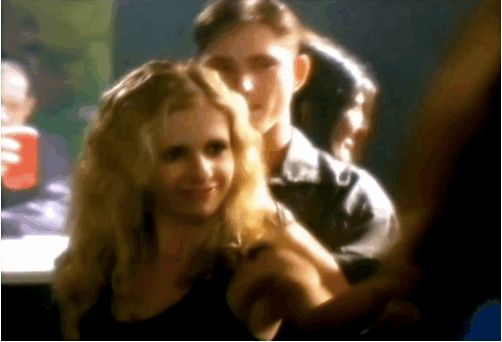 I mean, to start, there's Buffy grooving on the dance floor.   This Promo For The WB From 2000 Will Blow Your Mind