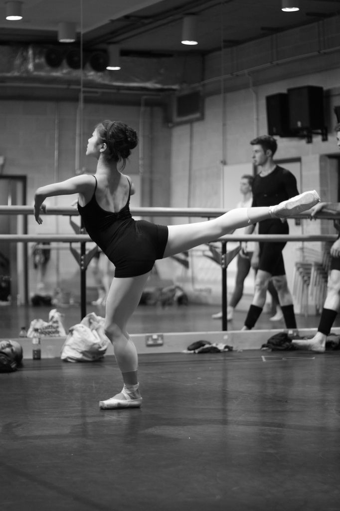 lordbyron44: New English Ballet Theatre rehearsals 5 (by silasstubbs)
