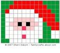 Christmas Beaded Safety PinPatterns