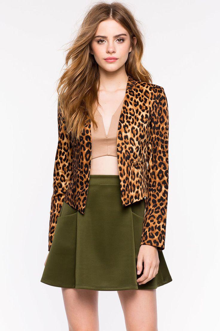 A'GACI | Uptown Jungle Leopard Blazer | #agaci