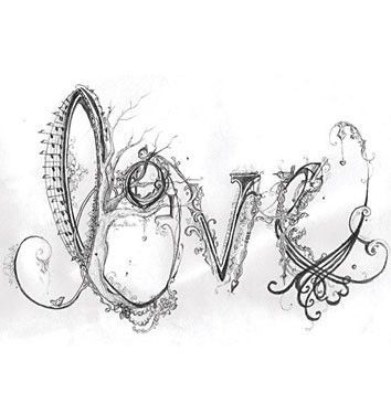 I love this design. It's very intricate & detailed, whimsical! This would be an awesome tattoo!